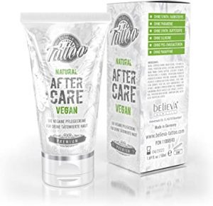 Believa Tattoo Natural After Care