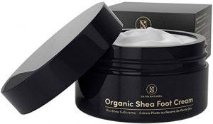 SatinNaturel Organic Shea Foot Cream